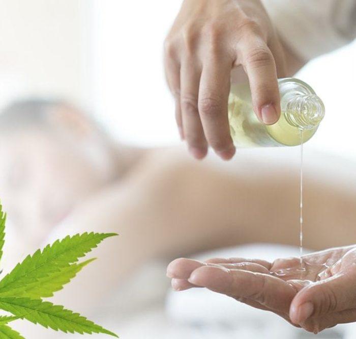 Olio al CBD e massaggi: