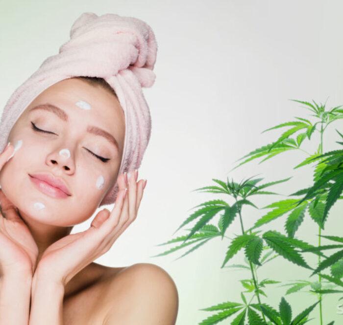 Cosmetici bellezza naturale prodotti al cbd