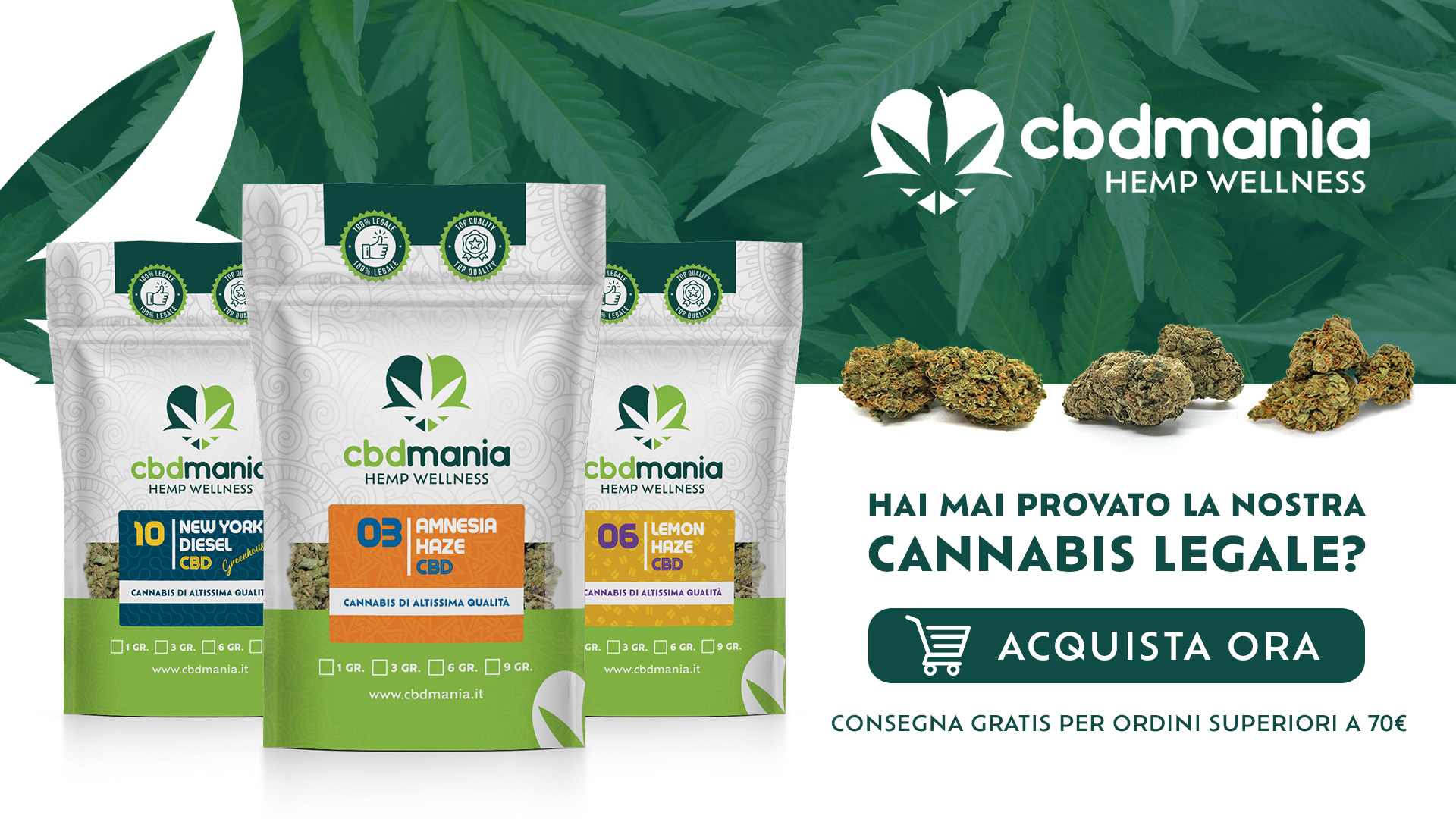 Acquista Cannabis Legale