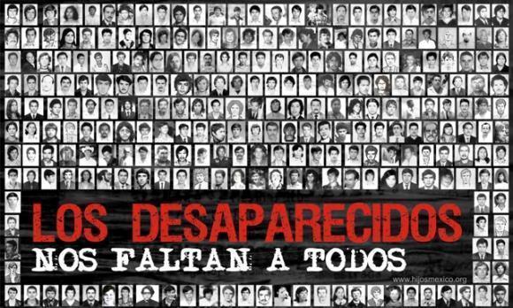 """Persone """"scomparse"""" che furono arrestate per motivi politici, o anche semplicemente accusate di avere compiuto attività 'anti governative'."""