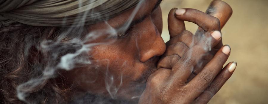 Come si fuma la charas